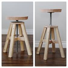Adjustable Height Wood And Metal Stool Knock Off Ana With How To Build Your  Own Bar Stools On Category 1000x1000px Build Your Own Bar Stools A57