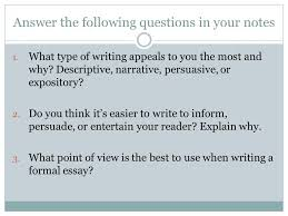 types of essay development ppt video online  10 answer