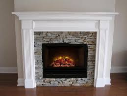 architecture electric fireplace with mantel brilliant dimplex ca 48 inch standard logs pertaining to 6