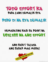 Funny Heartbroken Quotes Tagalog