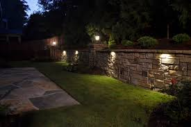 low voltage retaining wall lights awesome astounding outdoor fabrizio design home ideas 10