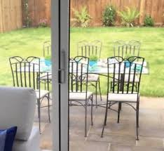 garden furniture wrought iron. Wrought Iron Garden Furniture. Furniture Glass Topped Table With 6 Padded Chairs T