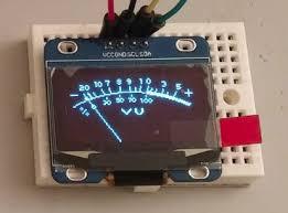 Oled Quote Adorable Analog VU Meter I48C OLED SH48 OLEDMeter Animation