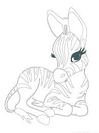 Coloring Pages Animals Cute