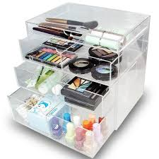 ikee design acrylic 4 drawer cosmetic organizer