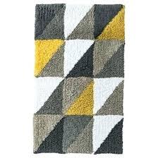 yellow gray bathroom rugs yellow and gray bathroom rug stylish yellow and gray bath mat yellow