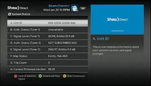 Shaw Direct Satellite Locator Chart Troubleshooting Satellite Receiver Not Authorized Or Not