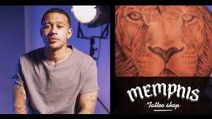 Un Calciatore Dal Cuor Di Leone Tutti I Tatuaggi Di Depay