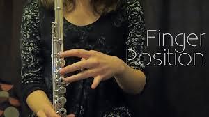 Beginner Flute Finger Position On The Flute