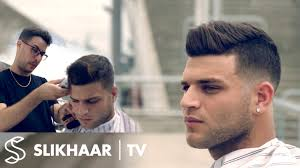 men s fade hairstyle how to fade with a clipper real soccer player haircut for men you