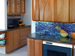 Blue Tiles For Kitchen Top Kitchen Backsplash Glass Tile Blue Blue Tile Kitchen