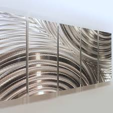 modern home interior ideas with indoor metal wall art decor sculpture huge silver abstract jon allen