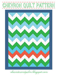 Chevron Quilt Pattern New Chevron Quilt Pattern Oleander Palm