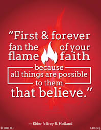 Quotes About Faith Mesmerizing Flame Of Faith