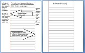 Updated Microsoft Word Wide Ruled Lined Paper
