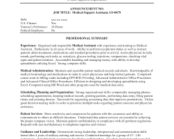 Medical Assistant Resumes And Cover Letters Medical Assitant