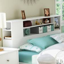 Corner Bookcase Plans Furniture Home South Shore Vito Fullqueen Bookcase Headboard