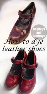 dying for a new lease of life how to dye leather shoes