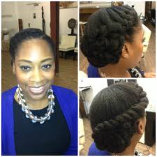 Short Natural Hair Style For Black Women natural updo naturalhair weddingstyle hair everyday beauties 5929 by wearticles.com
