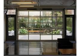 Cool All Glass Garage Door Breathtaking 0 Sofa brushandpalette