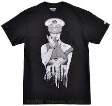Design Short Sleeve Tee Shirt Trukfit Mens Skater Sexy Cop Rapper Street Fashion Shirt Lil Wayne 3xl New