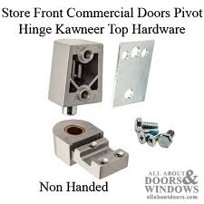 front commercial doors pivot hinge kawneer top hardware choose color