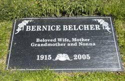Bernice Belcher (1915-2005) - Find A Grave Memorial