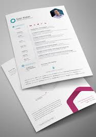 20 Free Editable Cv Resume Templates For Ps Ai
