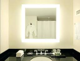lighted wall mount vanity mirror attractive led makeup bed bath and beyond light for 7