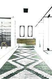 farmhouse bathroom rugs runner rug southwestern with modern farmh