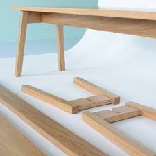 No glue, no screws - flat pack furniture just got interesting ...