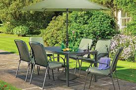 home outdoor living kettler mesh table rectangular 160 x 90cm