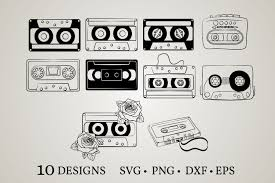 Looking for cassette psd free or illustration? Cassette Bundle Graphic By Euphoria Design Creative Fabrica
