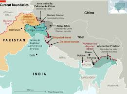 Navigate pakistan map, pakistan country map, satellite images of pakistan, pakistan largest cities with interactive pakistan map, view regional highways maps, road situations, transportation, lodging. Indo Pacific News Watching The Ccp China Threat On Twitter 4 Some Maps Of The Indopacific A Disputed Borders Between India China Pakistan B Kashmir Border Disputes C Doklam Border Disputes India