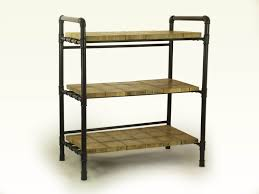 Pvc Pipe Bookshelf Loft Style Furniture Gas Pipes Industrial Bookshelf Wooden Slabs