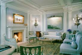 adam style detailing a neoclical style of décor and interior design was emplo