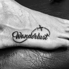 70 Wanderlust Tetování Vzory Pro Muže Cestování Inspirované