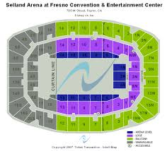 Selland Arena Fresno Ca Seating Chart Selland Arena Fresno Convention Center Seating Chart