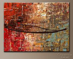 autumn abstract art painting image by carmen guedez