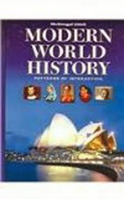 World History Textbook Patterns Of Interaction Stunning Modern World History Grades 4848 Patterns Of Interaction Holt