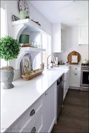 10 lovely kitchen countertop ideas with white cabinets inspiration