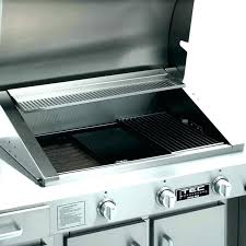 restaurant lava rock gas barbecue grill indoor range professional barbeque industrial