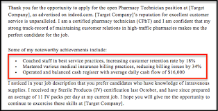 Pharmacy Technician Cover Letter Sample & Guide | Resumecompanion
