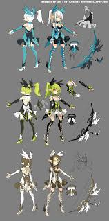 Archer Designer Love This Persons Character Designs Go Check Them Out And