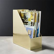 modern office accessories. pilar gold magazine holder modern office accessories