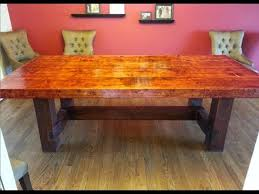 making dining room table. Contemporary Decoration Making Dining Room Table Homemade Do It Yourself