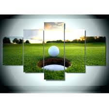 golf wall art golf wall decor stupendous images compact print 5 canvas art painting modern home