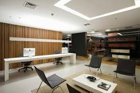 Office interior decor Grey Modern Office Interior Design Added With Extraordinary Furniture Style Contemporary Modern Office Decor Ideas With Kouhou Office Workspace Contemporary Modern Office Decor Ideas With
