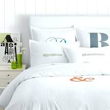 personalized duvet covers make your mark cotton duvet sham personalized or monogrammed mark and graham custom