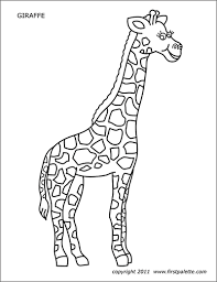 Zebra stripes are really unique, no two are alike. Zebra Free Printable Templates Coloring Pages Firstpalette Com